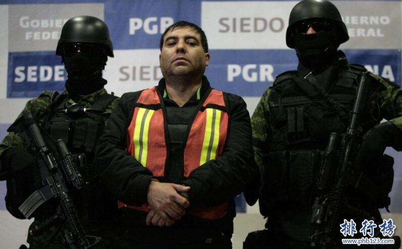 墨西哥贩毒集团排名:监控政府,猖狂至极